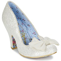 Schoenen Dames pumps Irregular Choice NICK OF TIME Wit / Pailleté