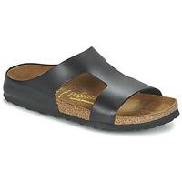 Schoenen Dames Leren slippers Papillio CHARLIZE Zwart / Métalisé