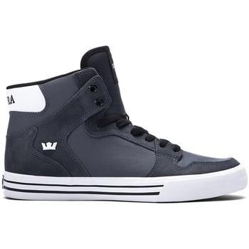 Schoenen Heren Hoge sneakers Supra Chaussures  Vaider Charcoal h15 - Gris