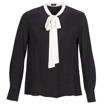 Textiel Dames Overhemden Joseph VICTOIRE Zwart