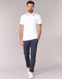 Textiel Heren Chino's Selected THREE PARIS Marine