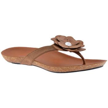 Schoenen Dames Slippers F. Milano  Beige