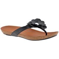 Schoenen Dames Slippers F. Milano  Zwart
