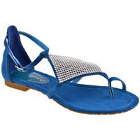 Schoenen Dames Slippers F. Milano  Blauw