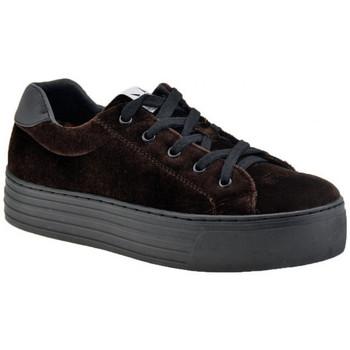 Schoenen Dames Lage sneakers F. Milano  Brown