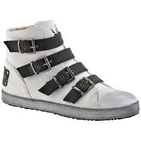 Schoenen Dames Hoge sneakers F. Milano  Wit