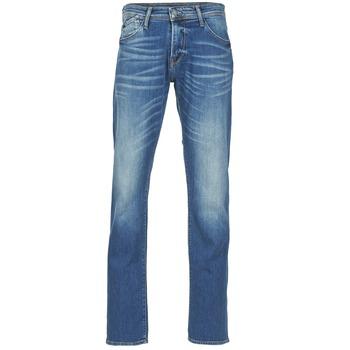 Textiel Heren Straight jeans Le Temps des Cerises 812 Blauw