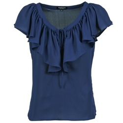 Textiel Dames Tops / Blousjes Morgan OMIMI Marine