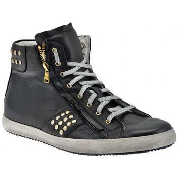 Schoenen Heren Hoge sneakers Exton  Zwart