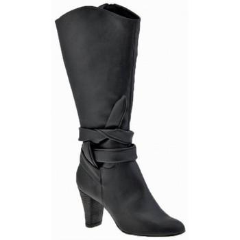 Schoenen Dames Enkellaarzen Chedivé  Zwart