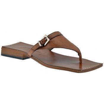Schoenen Dames Slippers Janet&Janet  Brown