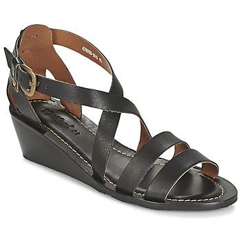 Schoenen Dames Sandalen / Open schoenen Kickers FANTASIA Zwart