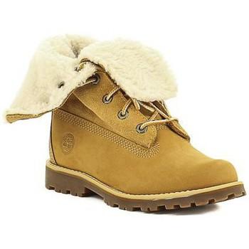 Schoenen Meisjes Laarzen Timberland C 2236B,A156N Jaune