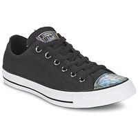 Schoenen Dames Lage sneakers Converse ALL STAR OIL SLICK TOE CAP OX Zwart