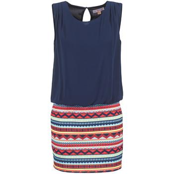 Textiel Dames Korte jurken Moony Mood IEVELI Marine
