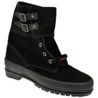 Schoenen Dames Laarzen Superga  Zwart