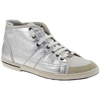 Schoenen Dames Hoge sneakers OXS  Zilver