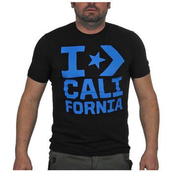 Textiel Heren T-shirts korte mouwen Converse  Zwart