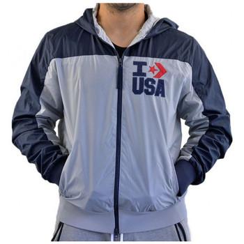 Textiel Heren Wind jackets Converse  Grijs