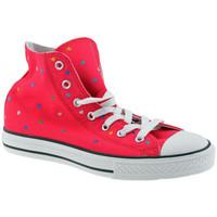 Schoenen Meisjes Hoge sneakers Converse  Roze