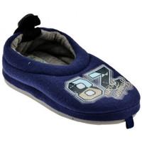 Schoenen Kinderen Leren slippers De Fonseca  Blauw