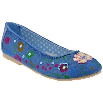 Schoenen Kinderen Ballerina's Lulu  Blauw