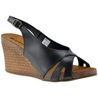 Schoenen Dames Sandalen / Open schoenen Inblu  Zwart