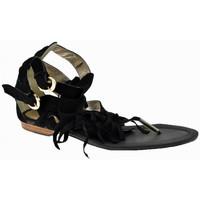 Schoenen Dames Sandalen / Open schoenen Swish  Zwart
