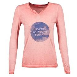 Textiel Dames T-shirts met lange mouwen S.Oliver EVILUNE Terracota