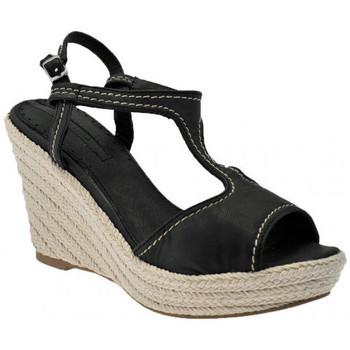 Schoenen Dames Sandalen / Open schoenen Donna Loka  Zwart