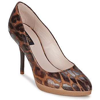 Schoenen Dames pumps Escada AS701 Brown / Leopard