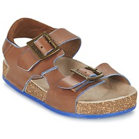 Schoenen Jongens Sandalen / Open schoenen Kickers NANTI Brown