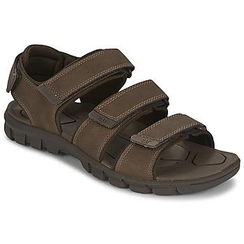 Schoenen Heren Sandalen / Open schoenen Caterpillar ENTRANT Brown