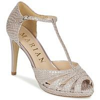 Schoenen Dames Sandalen / Open schoenen Marian CHANVRO Beige / Python