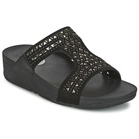 Leren slippers FitFlop CARMEL SLIDE