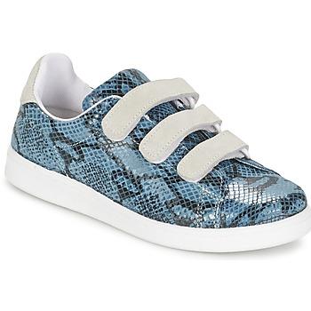 Schoenen Dames Lage sneakers Yurban ETOUNATE Blauw / Jeans