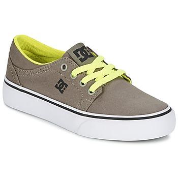 Schoenen Jongens Lage sneakers DC Shoes TRASE TX Taupe