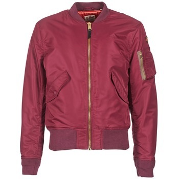 Textiel Heren Wind jackets Schott BOMBER BY SCHOTT Bordeaux