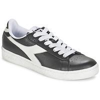 Schoenen Lage sneakers Diadora GAME L LOW Zwart / Wit