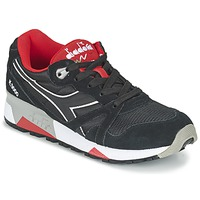 Schoenen Lage sneakers Diadora N9000 NYLON II Zwart / Rood