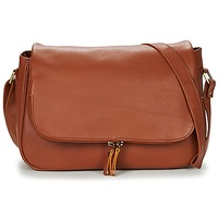 Tassen Dames Schoudertassen met riem Betty London EZIGALE COGNAC