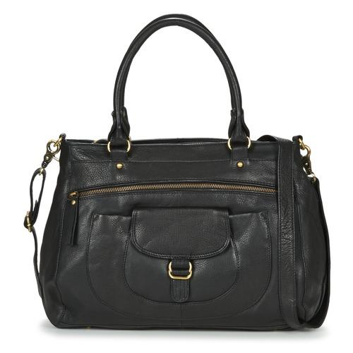 Tassen Dames Handtassen kort hengsel Betty London ETRAME Zwart