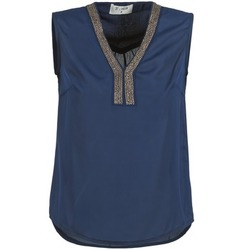 Textiel Dames Tops / Blousjes Betty London ERIATE Marine