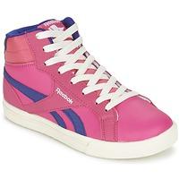 Schoenen Meisjes Hoge sneakers Reebok Classic REEBOK ROYAL COMP 2 Roze