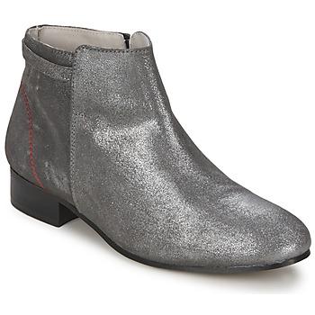 Schoenen Dames Laarzen Alba Moda FLONI Zilver