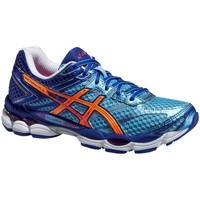 Schoenen Dames Running / trail Asics Cumulus 16 Bleu, Orange