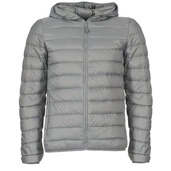 Textiel Heren Dons gevoerde jassen Benetton FOULI Grijs