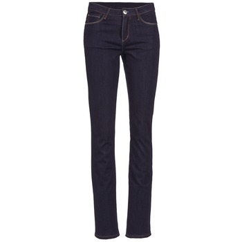 Textiel Dames Straight jeans Yurban ESQUANE Blauw / Donker