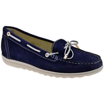 Schoenen Dames Mocassins Keys  Blauw