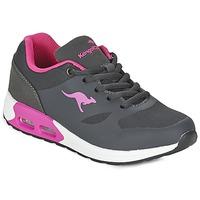 Schoenen Meisjes Lage sneakers Kangaroos KANGA X Grijs / Roze